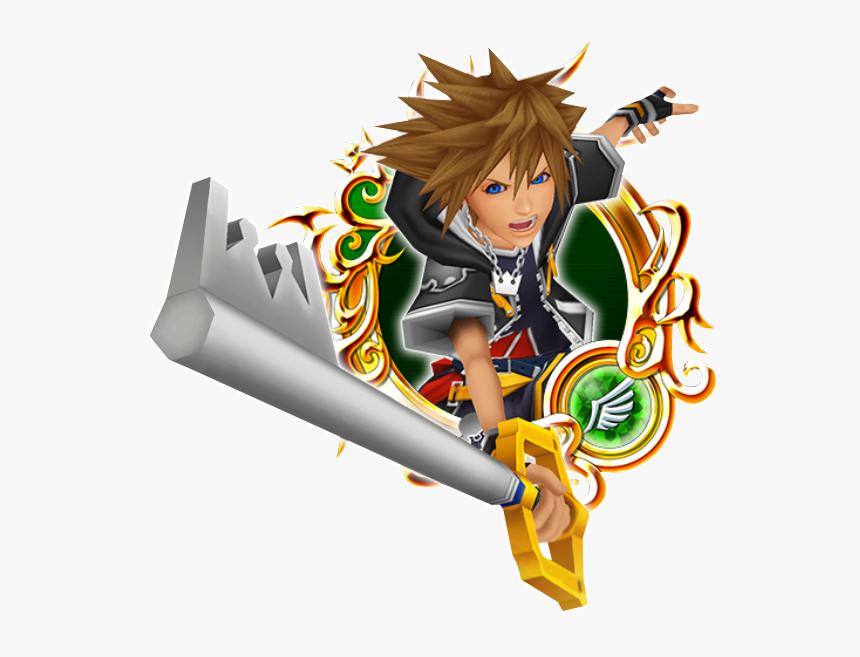 Kh Ii Sora B - Kingdom Hearts 2 Medals, HD Png Download, Free Download