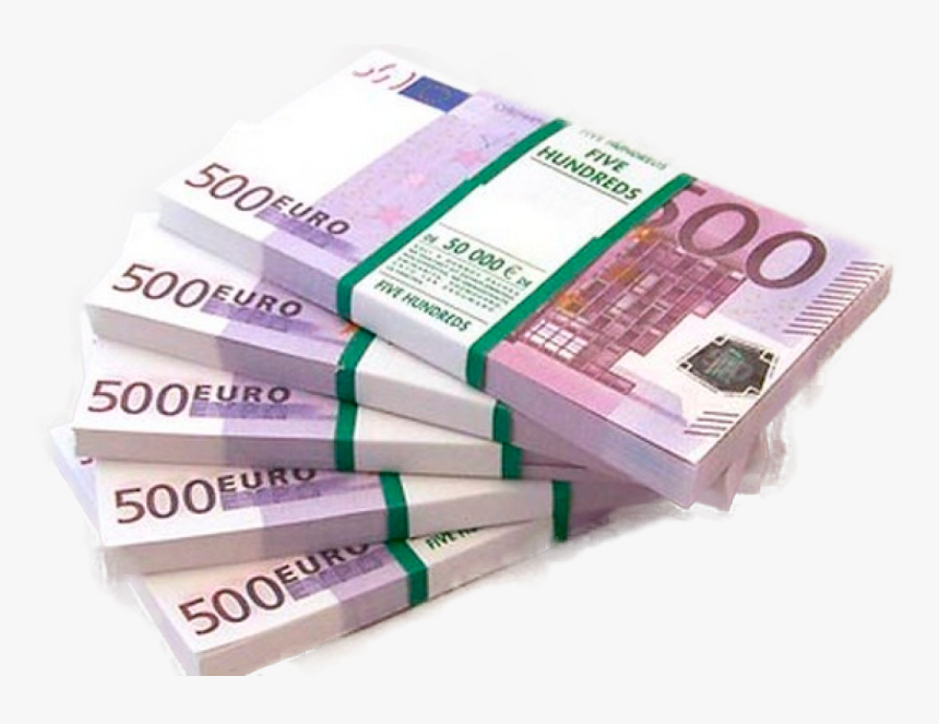 500 Euro Note 100 Euro Note Russian Ruble Money - 500 Euro Png, Transparent Png, Free Download