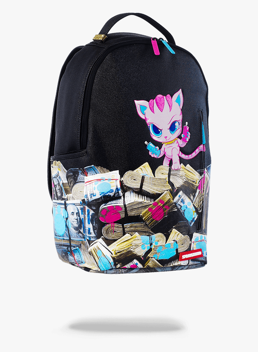 Kitten Money Stacks Sprayground, HD Png Download, Free Download