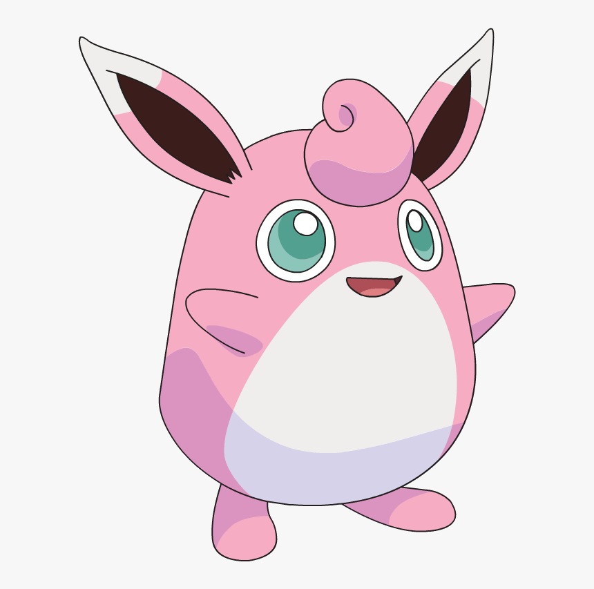 250px-039jigglypuff - Wigglytuff Pokemon, HD Png Download ...