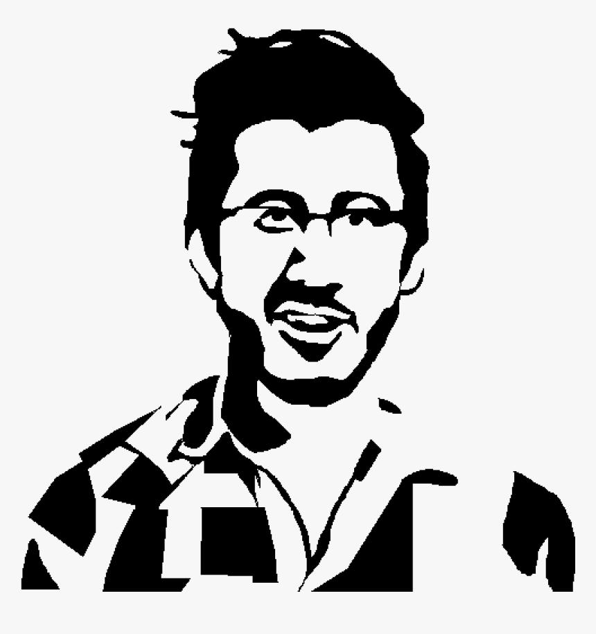 Markiplier Stencil, HD Png Download, Free Download