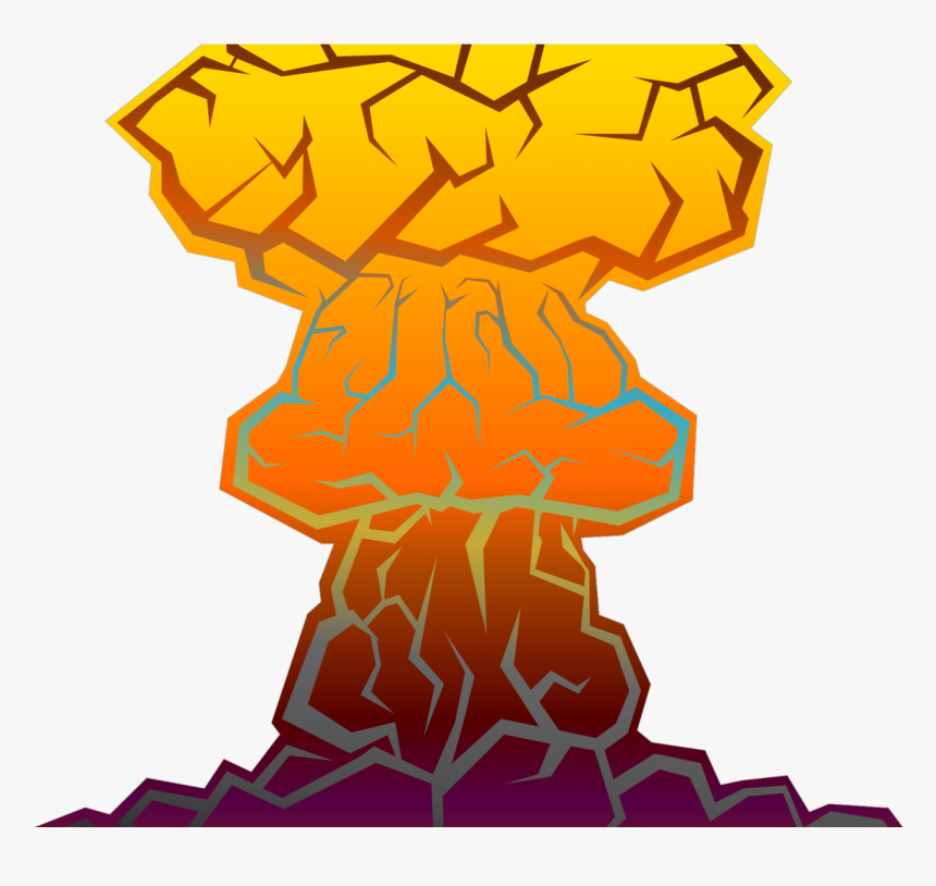 Transparent Comic Book Png - Nuclear Bomb Transparent Gif, Png Download, Free Download