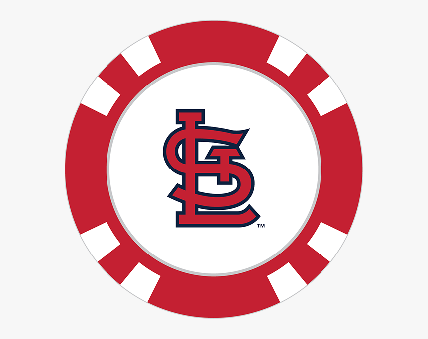 St Louis Cardinals Png Download Image - Transparent Background Poker Chips Png, Png Download, Free Download