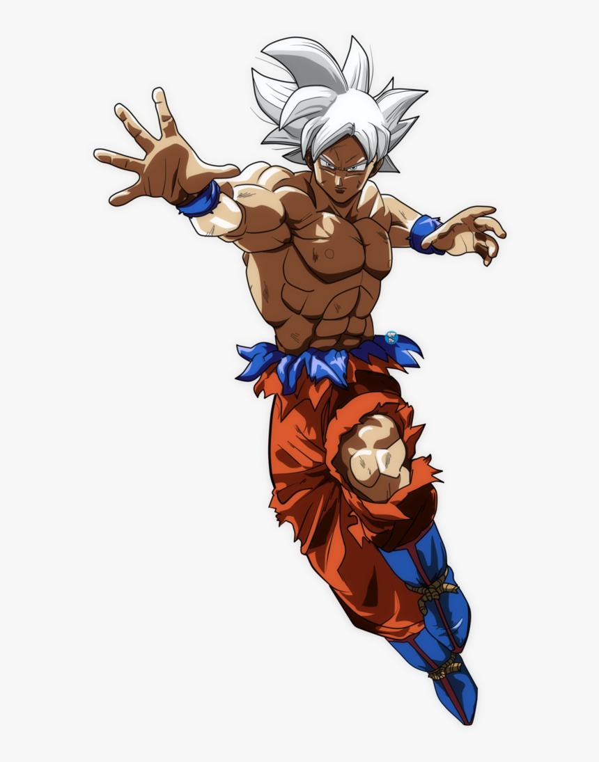 Anime,fictional Character,dragon Ball,illustration - Ultra Instinct Goku Pose, HD Png Download, Free Download