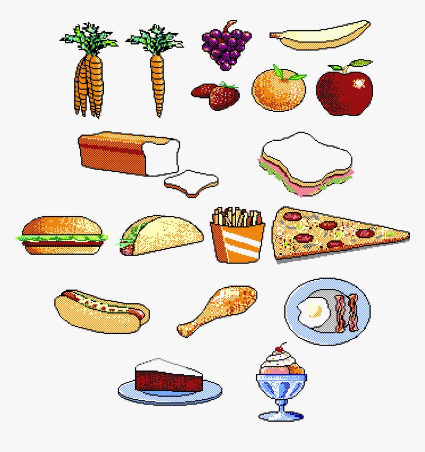 Food Clip Arts Gambar Makanan Kartun Hd Png Download Kindpng