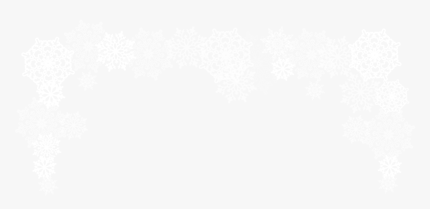 Snowflakes For Free - Border Snowflakes Transparent Png Free, Png Download, Free Download