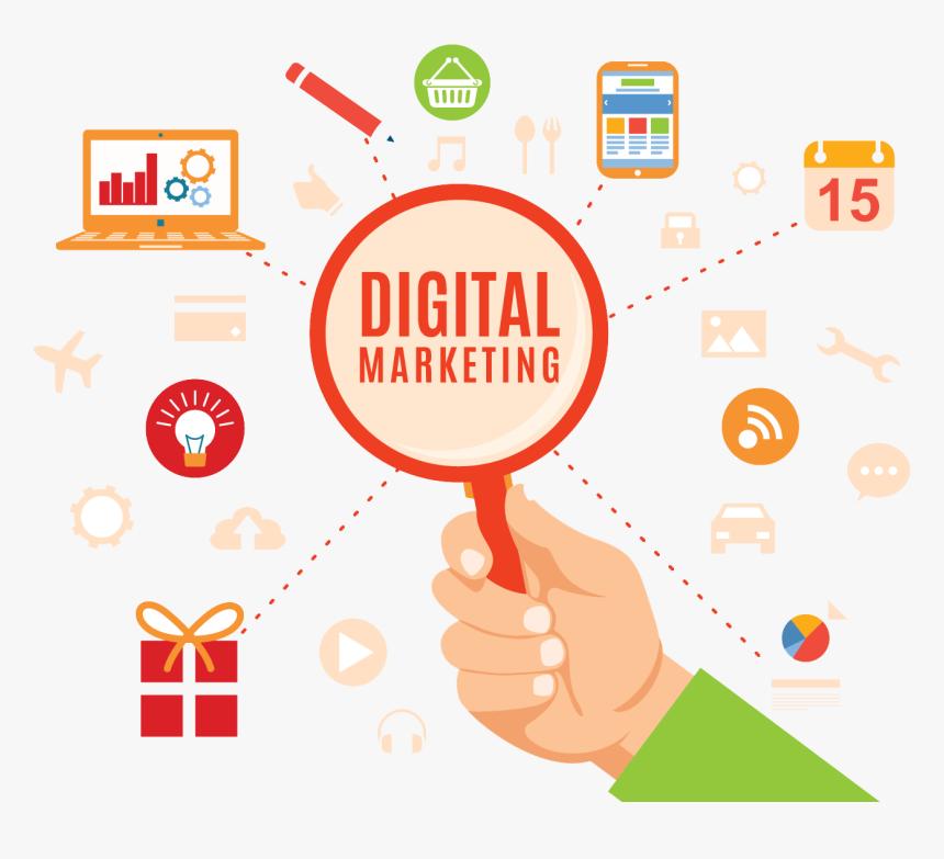 Transparent Social Media Marketing Icon Png Digital Marketing Transparent Background Png Download Kindpng