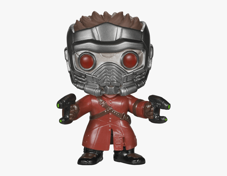 Guardians Of The Galaxy Star-lord Pop Figure - Funko Pop Marvel Star Lord, HD Png Download, Free Download
