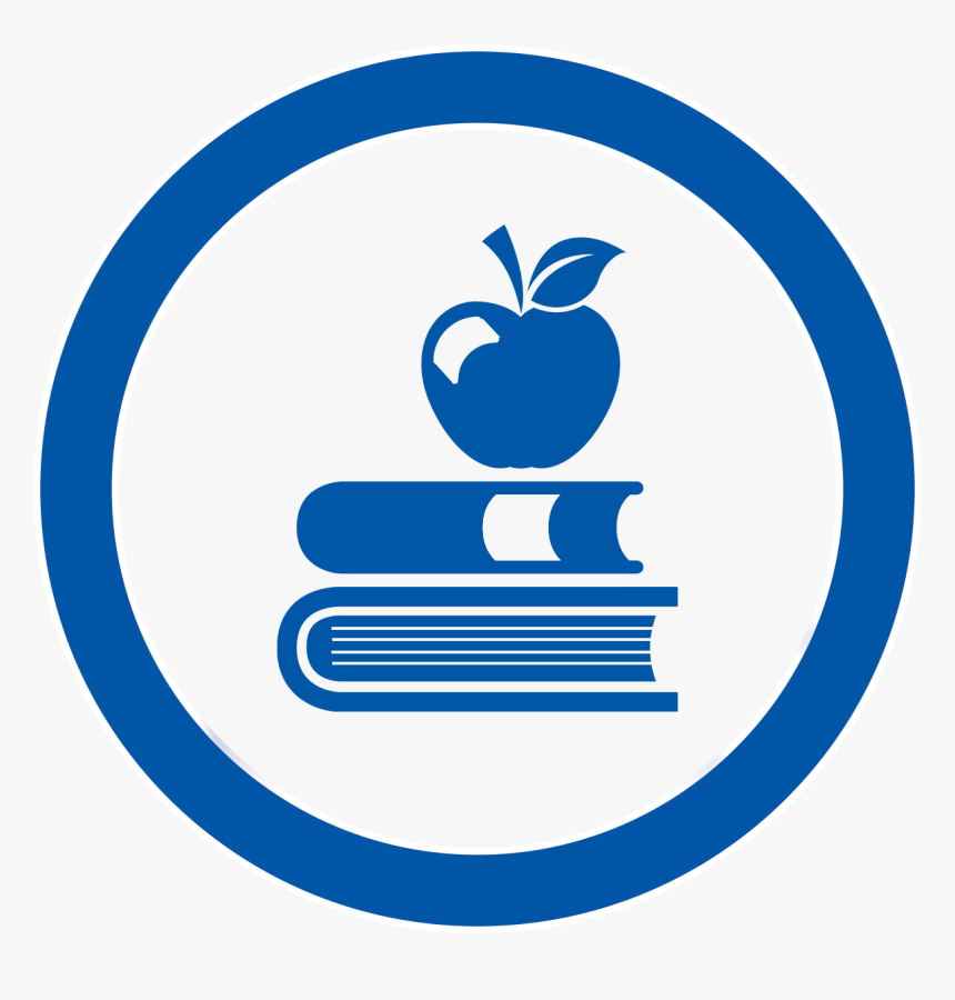 Middle School Education Icon - School, HD Png Download - kindpng
