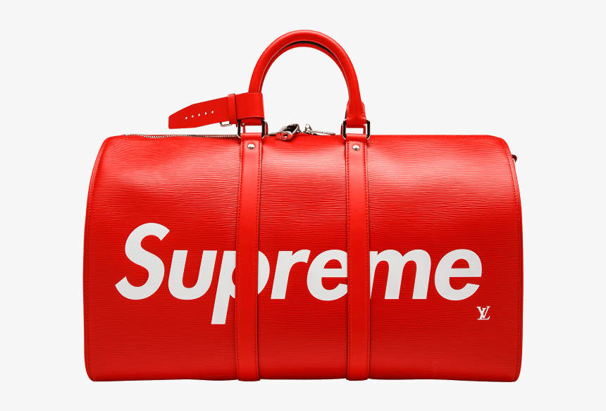 Handbag Louis Vuitton Supreme Leather Louis Vuitton Bag Transparent Background Hd Png Download Kindpng