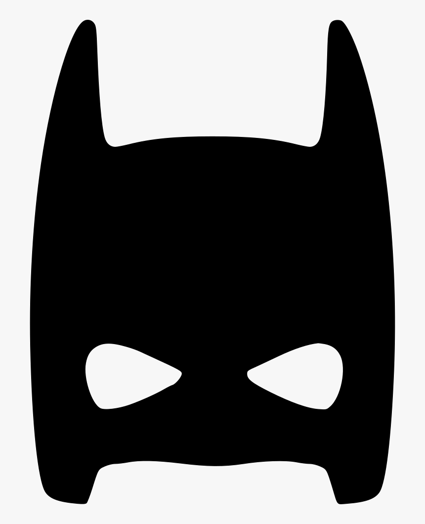 Half Face Mask Skin Hero Comments Batman Mask Svg Free Hd Png Download Kindpng