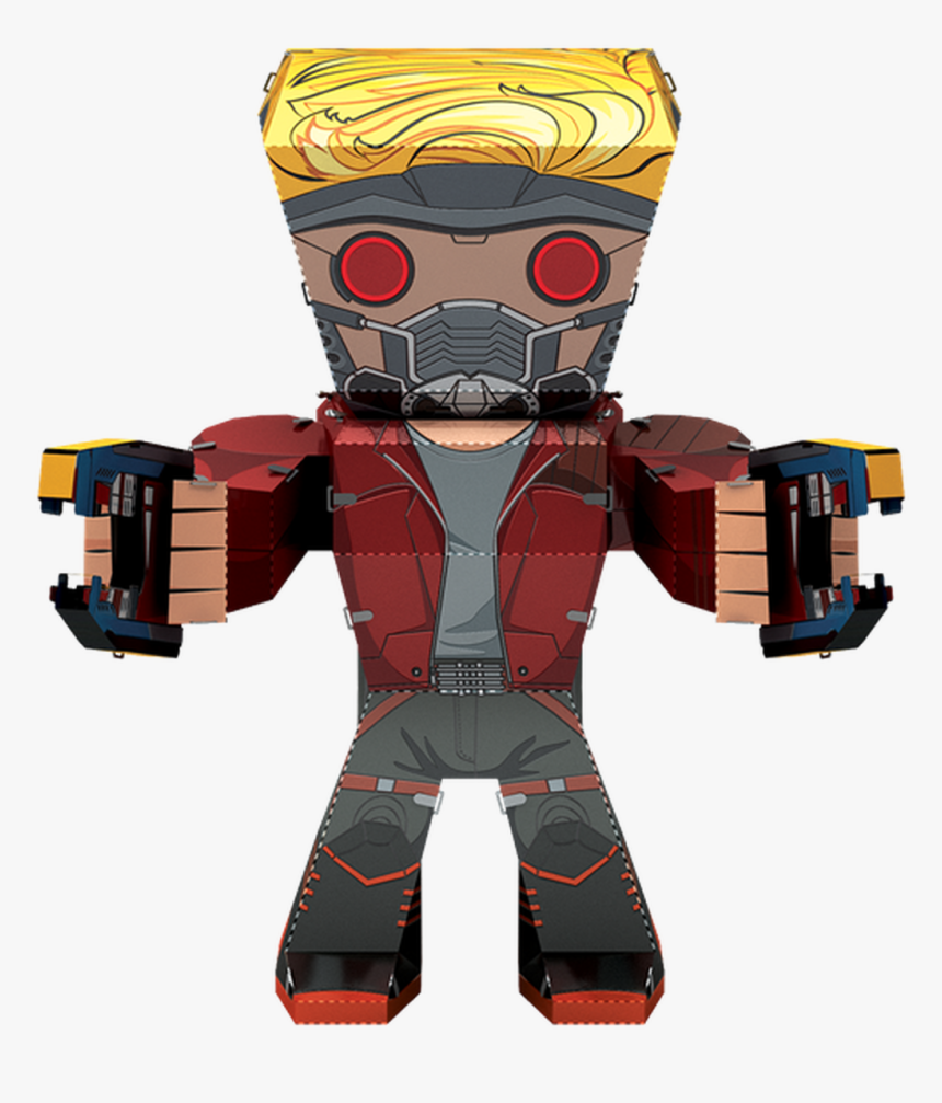 Metal Earth Guardians Of The Galaxy - Star-lord, HD Png Download, Free Download