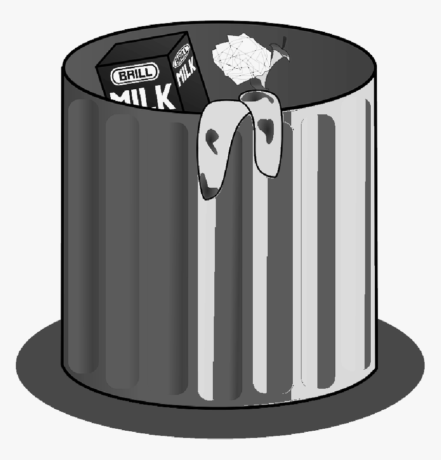 Transparent Dustbin Clipart Png Clipart Trash Can Animated Png