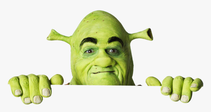 Transparent Shrek Face Png Dabbing Shrek Transparent Background Png Download Kindpng