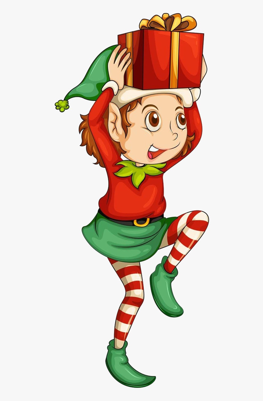 Christmas Elf Png Transparent Image - Christmas Elf Clipart, Png Download, Free Download