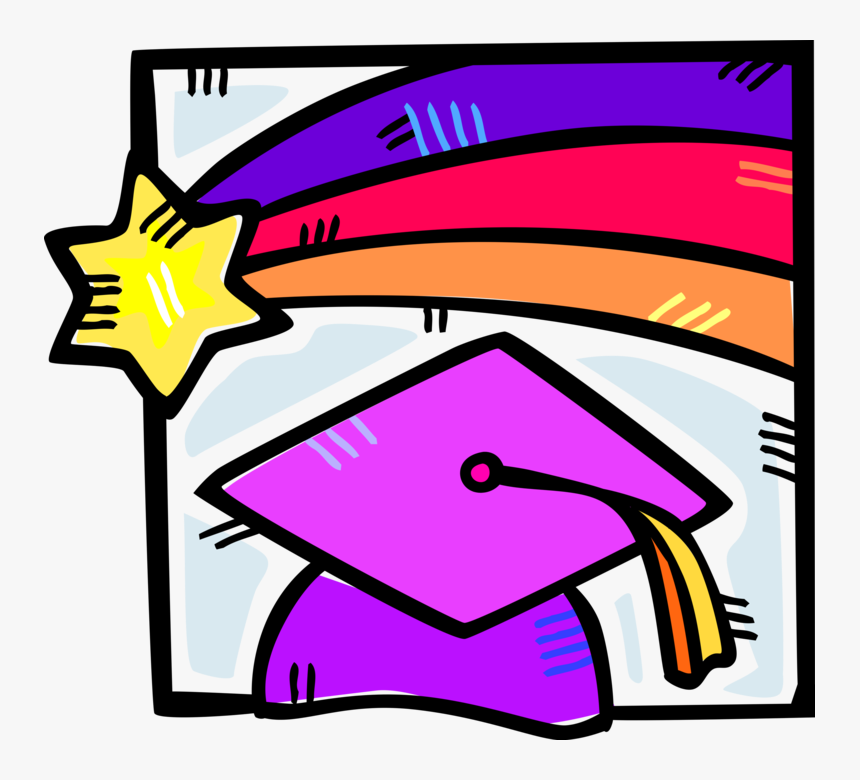 Vector Illustration Of High School, College And University, HD Png Download, Free Download