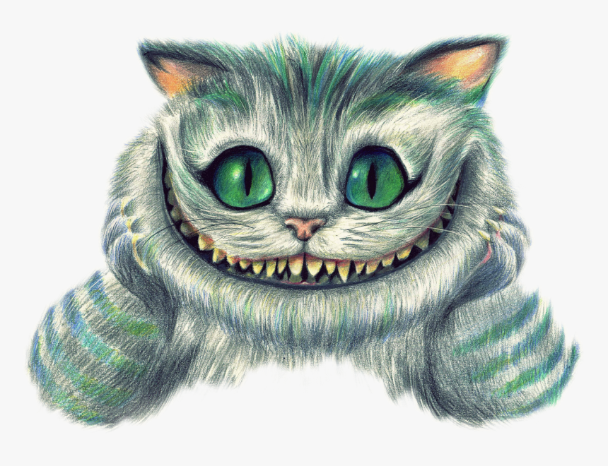 Mad Hatter Cheshire Cat , Png Download - Cat From Mad Hatter, Transparent Png, Free Download