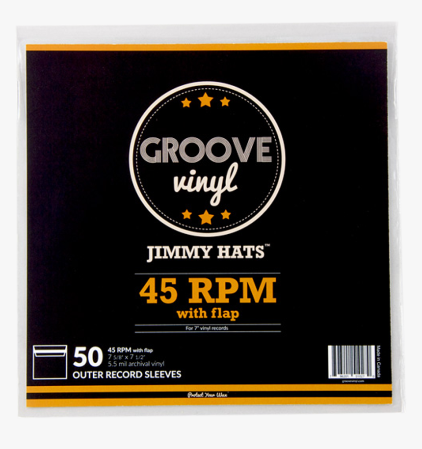 7 Inch With Flap Premium Outer Record Sleeves - Ball, HD Png Download, Free Download