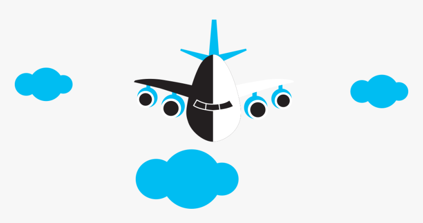 Airplane Clipart , Png Download - Wide-body Aircraft, Transparent Png, Free Download