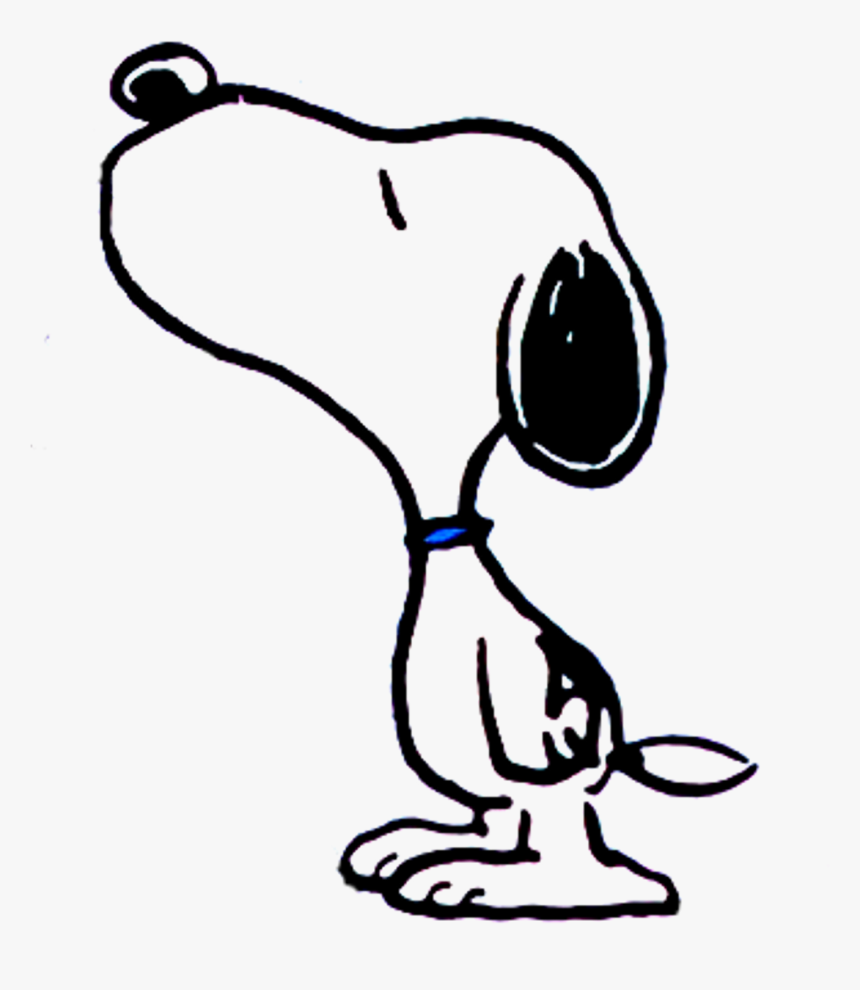 Kiss Pencil And In Color - Cartoon Snoopy Png, Transparent Png, Free Download