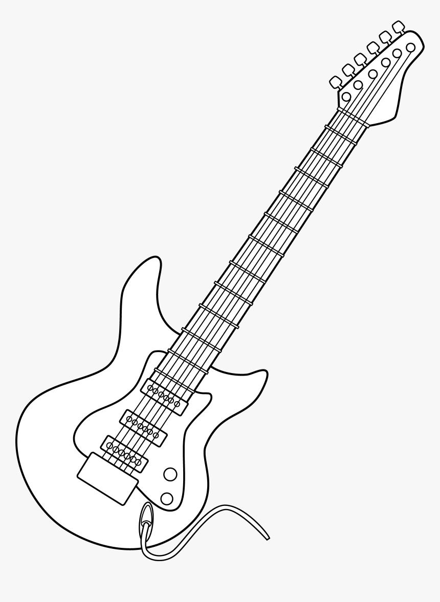 Showing Post & Media For Cartoon Electric Guitar Black - Hong Kong, HD Png Download, Free Download