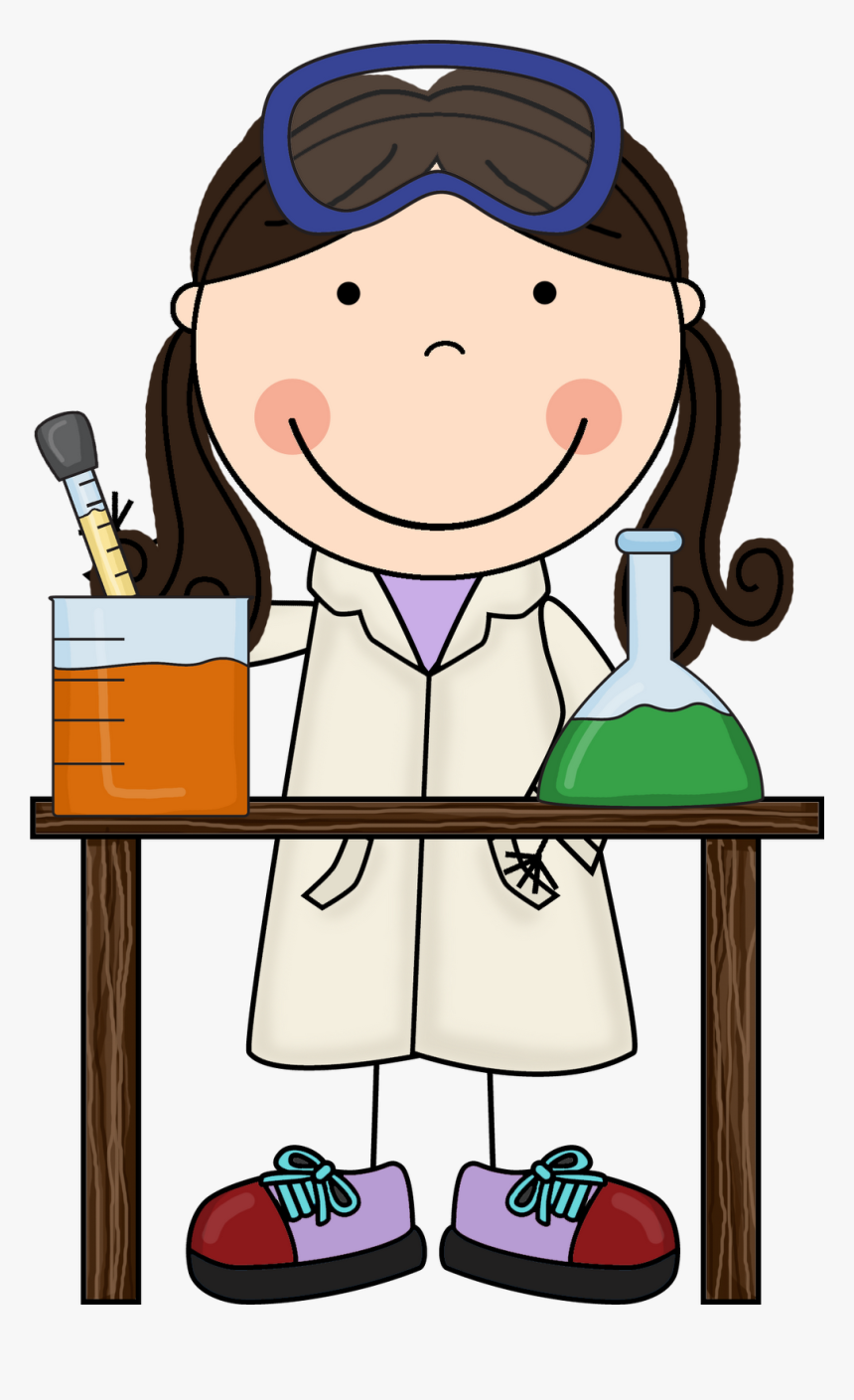 Dna Structure Clipart Science Conclusion - Scientist Clipart, HD Png Download, Free Download