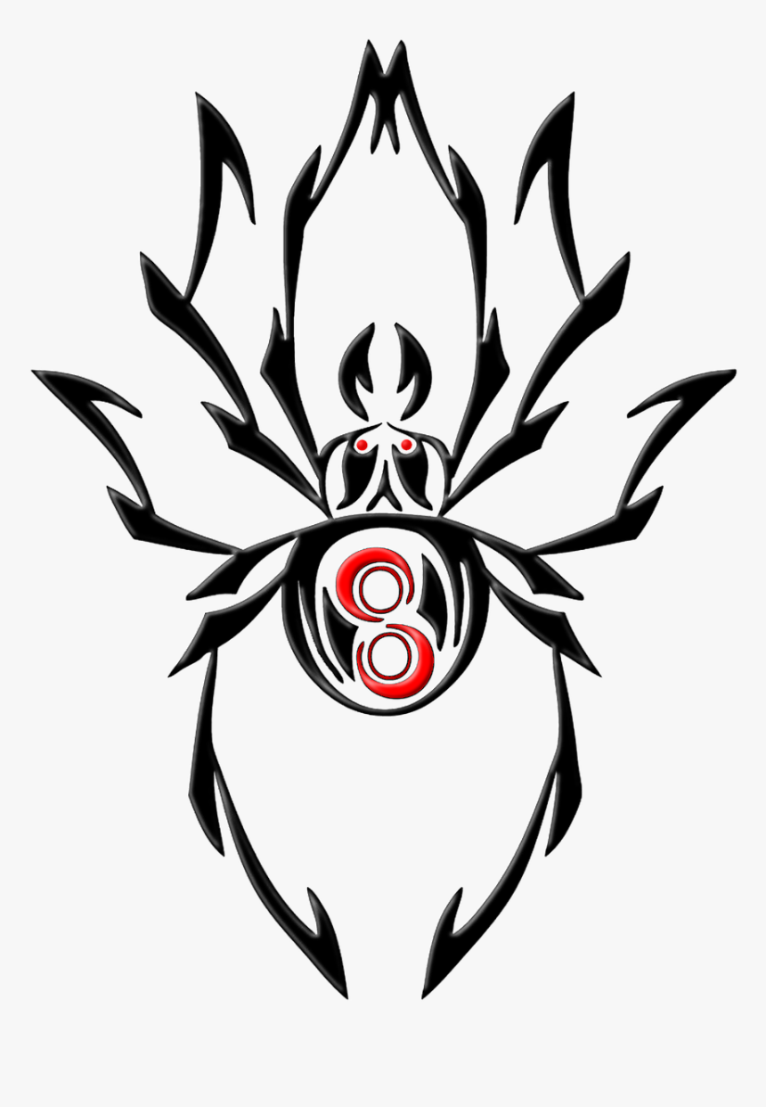 Tribal Spider Tattoo Designs, HD Png Download, Free Download