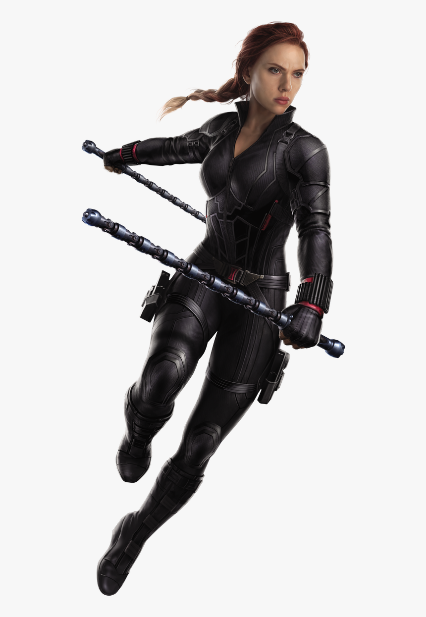 Avengers Endgame Transparent Black Widow, HD Png Download, Free Download