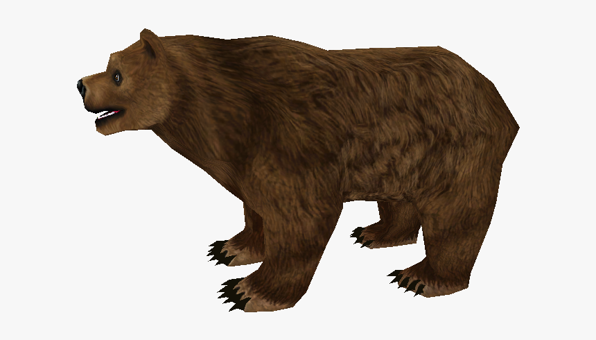 Zoo Tycoon 2 Grizzly Bear, HD Png Download, Free Download