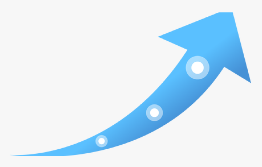 Computer Icons Clip Art - Blue Arrow Going Up, HD Png ...