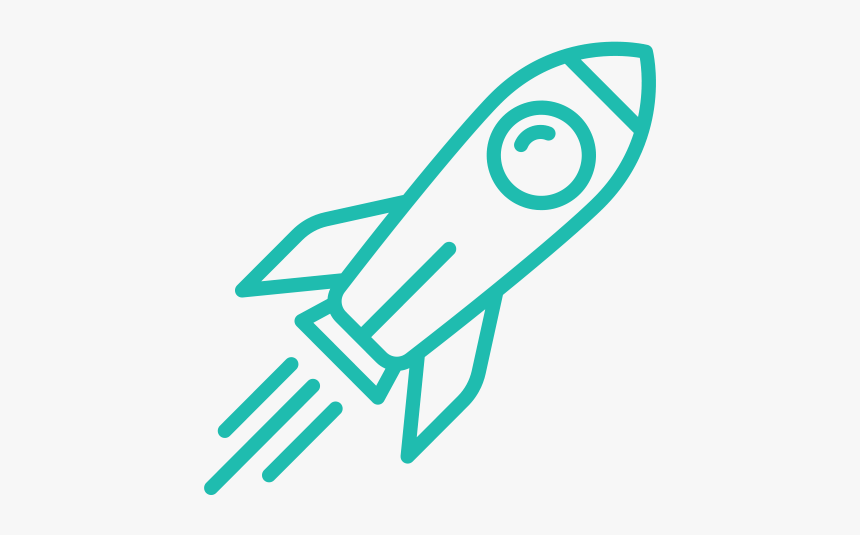 Career Growth Transparent Background Rocket Icon Png Png Download Kindpng
