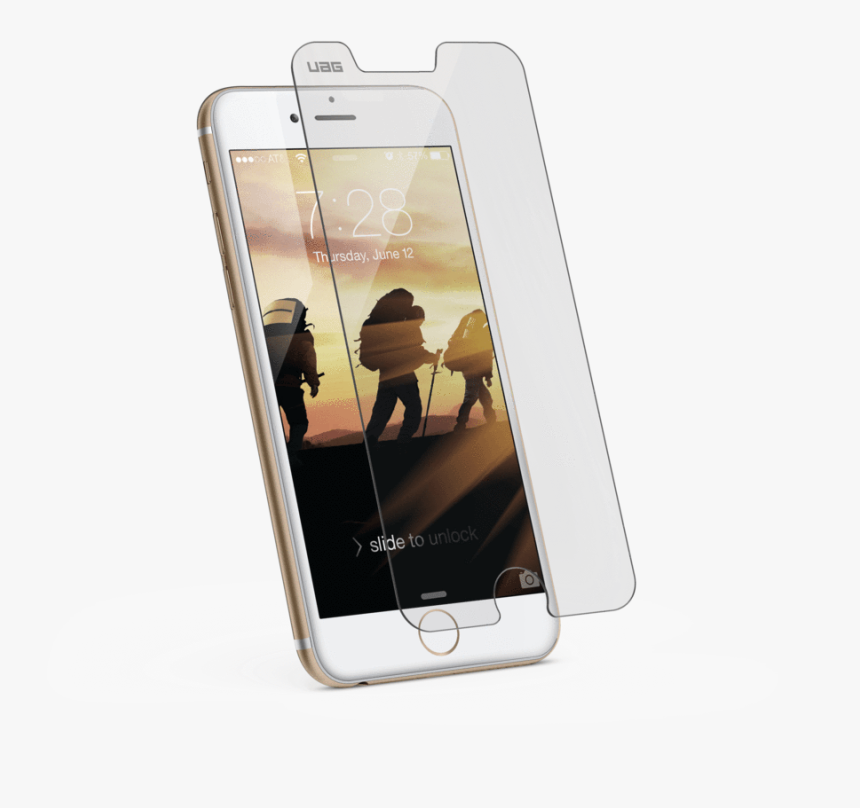 Transparent Iphone 6s Png - Uag Screen Protector Iphone 6, Png Download, Free Download