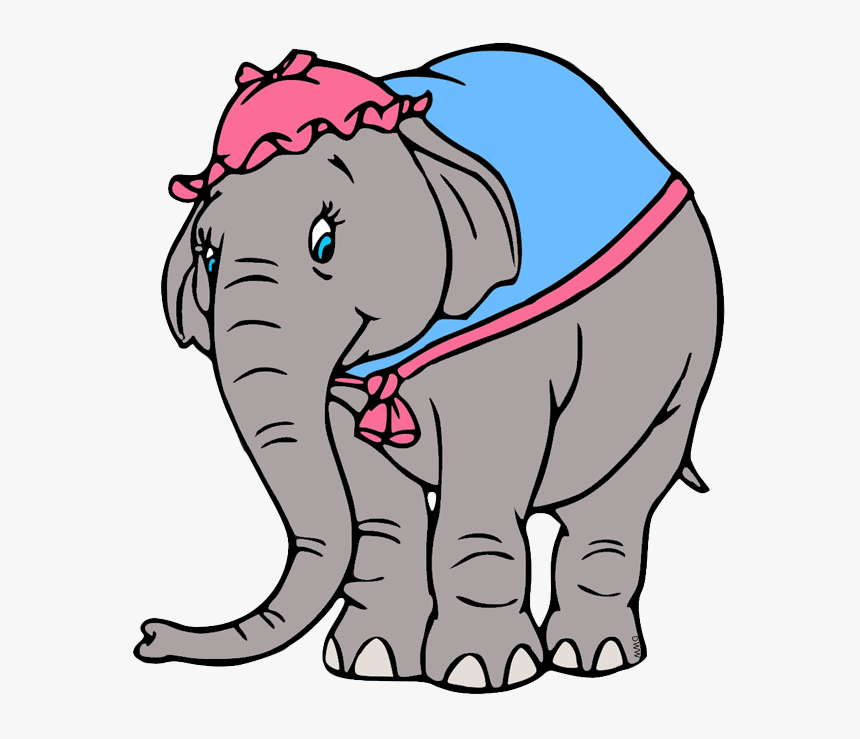Transparent Dumbo Clipart - Dumbo Mom Coloring Page, HD Png ...