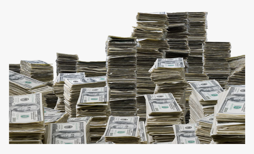 Objectstacks Of $100 - Stacks Of Money Png, Transparent Png, Free Download