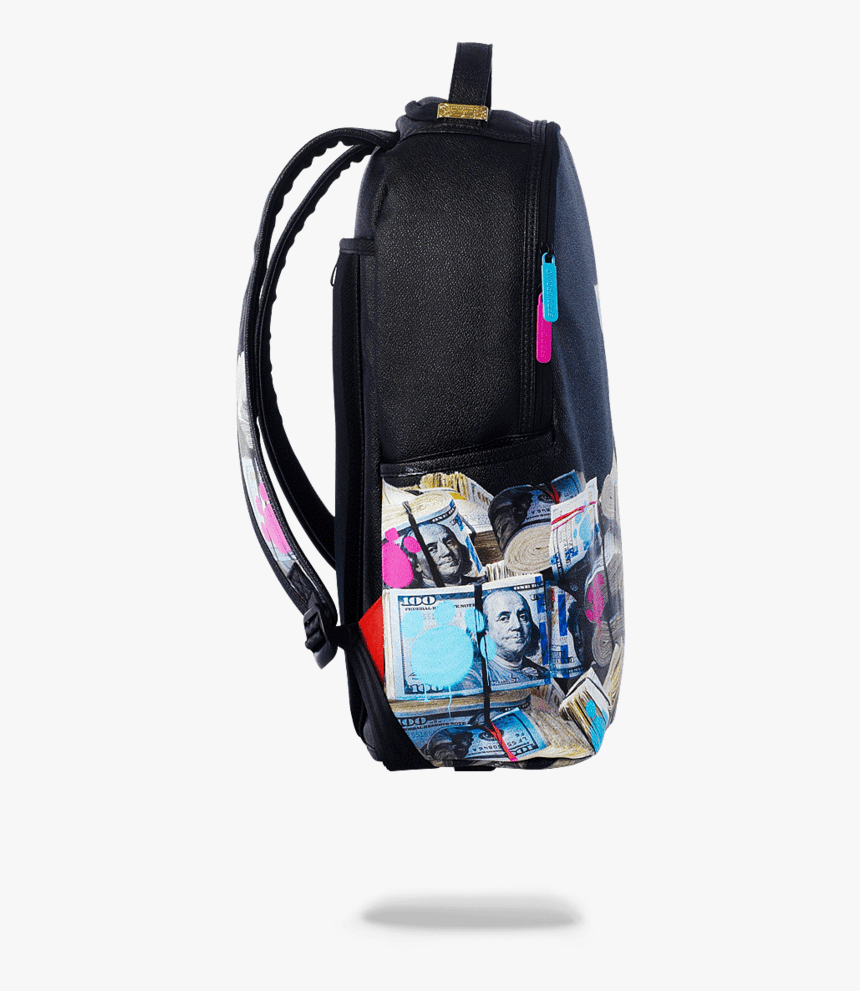 Kitten Money Stacks Backpack - Sprayground Kitten Money Stacks Backpack, HD Png Download, Free Download