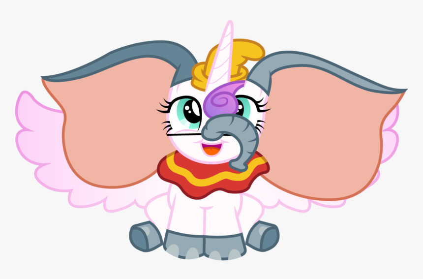 Stuck Clip Dumbo - Dumbo My Little Pony, HD Png Download, Free Download