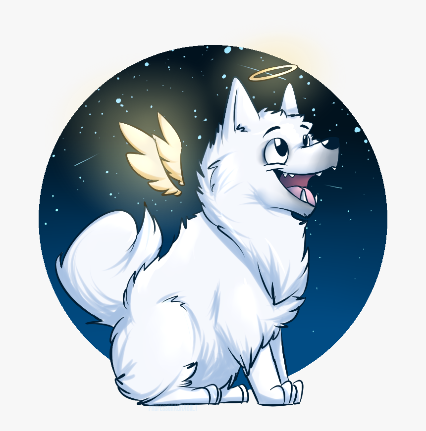 Rip Gabe You Were A Good Doggo - Rip Gabe The Dog Art, HD Png Download, Free Download