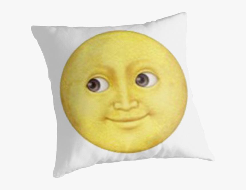 Transparent Moon Face Clipart - Emoji, HD Png Download, Free Download