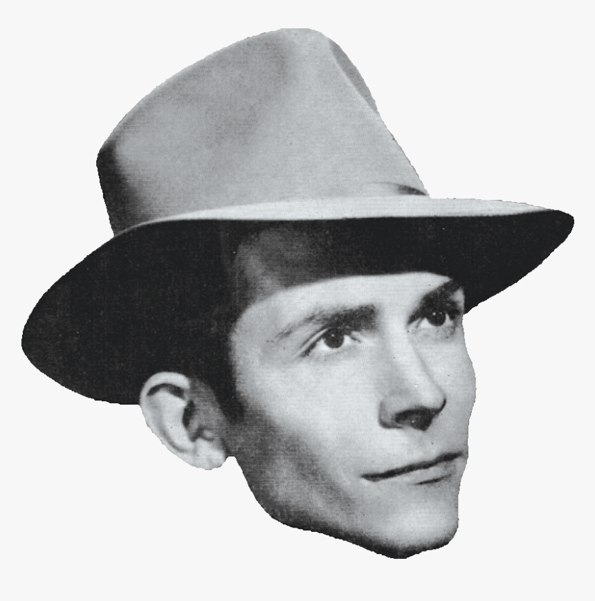 Hank Williams Without A Hat - Hank Williams Clipart Transparent Background, HD Png Download, Free Download
