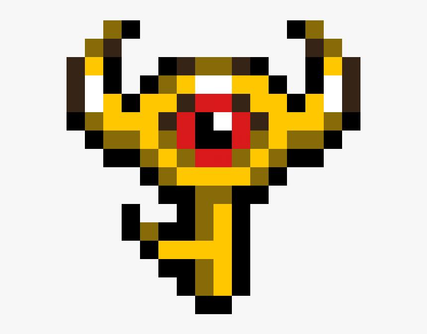The Legend Of Zelda - Pixel Art Zelda Boss Key, HD Png Download, Free Download