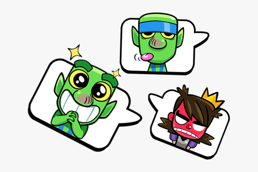 Clash Royale New Emotes, HD Png Download, Free Download