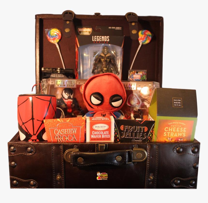 Marvel Gift Basket, HD Png Download, Free Download