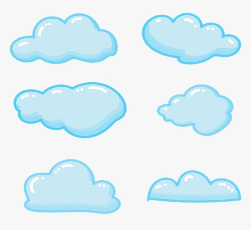 Sky Blue Clouds Clip Art