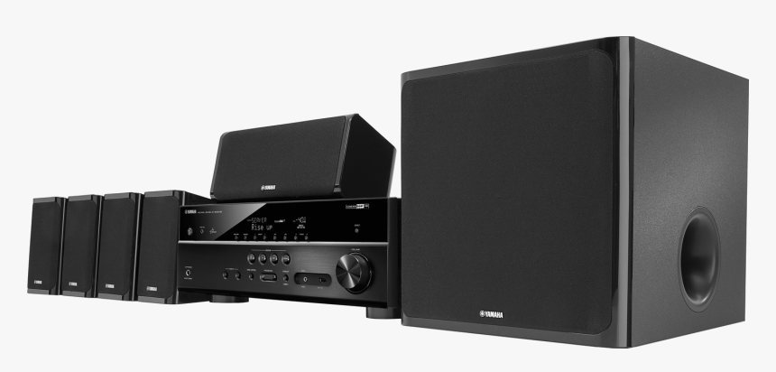 Home Theater System Png Photos - Yamaha 725w 5.1 Ch 3d Home Theater System Black, Transparent Png, Free Download