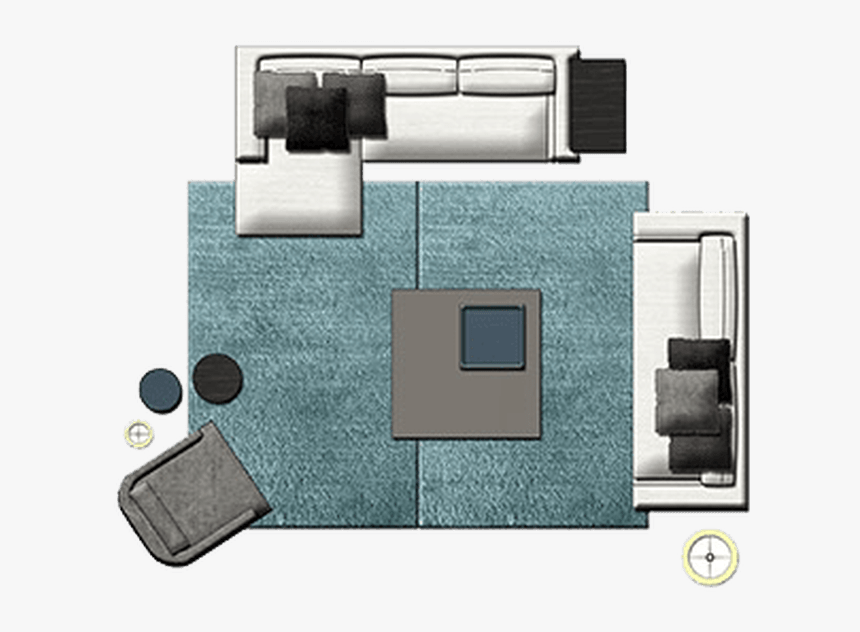 Office Furniture Top View Png Creativity Yvotubecom, - Furniture Floor Plan Png, Transparent Png, Free Download