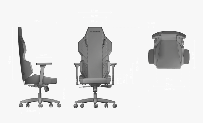 Office Furniture Top View Png , Png Download - Office Chair In Office Depot, Transparent Png, Free Download