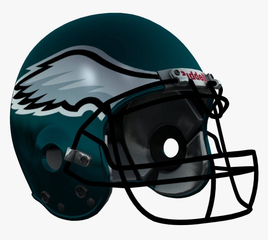 Eagles Helmet Png - Baltimore Ravens Helmet Png, Transparent Png, Free Download