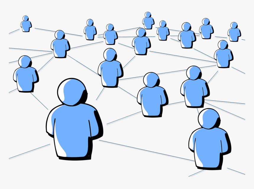 Social Networking Clipart, HD Png Download, Free Download