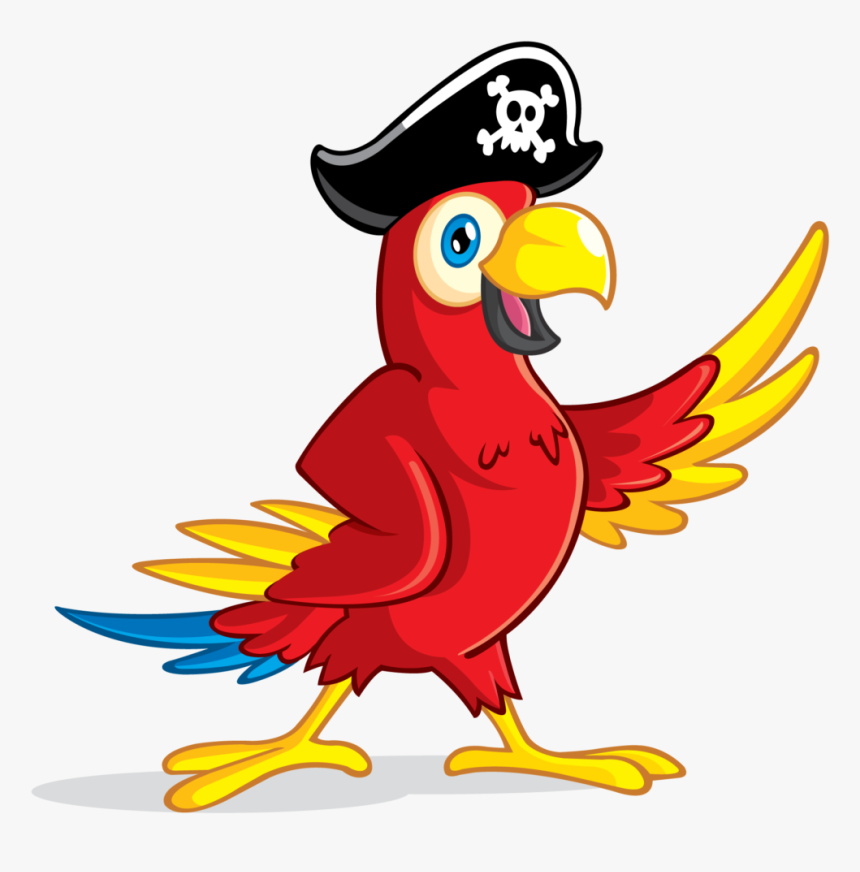 Pirate Parrot Transparent, HD Png Download, Free Download