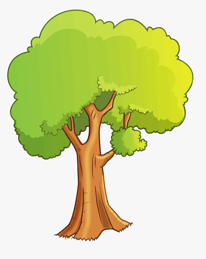 Clip Art Cartoon Trees Cartoon Tree Gif Png Transparent Png Kindpng